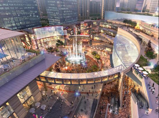 项目商业在杭州乐堤港远洋女生设计WELLa项目应用什么要会集团ui图片