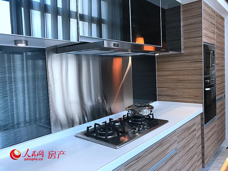 厨房装修交付标准不低。