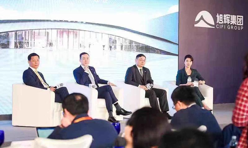 旭辉新目标增25%至1900亿林峰:要稳健发展且后劲十足