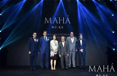 合生创展MAHA住平安圣夜的祭礼品类作品缦合·北京亮相