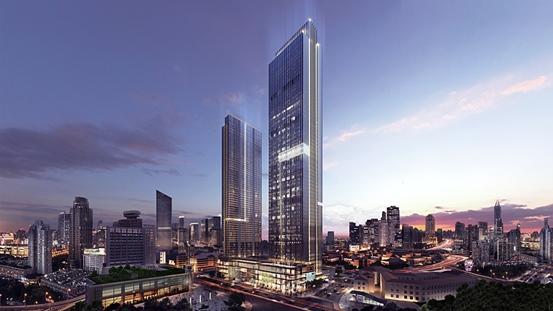 天津平安泰达金融中心启幕打造多业态空间