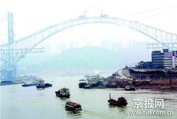 朝天门长江大桥年内建成通车 已不用图片