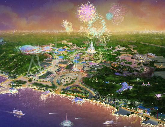 上海迪士尼效果图曝光 2015年开园(组图) (2)